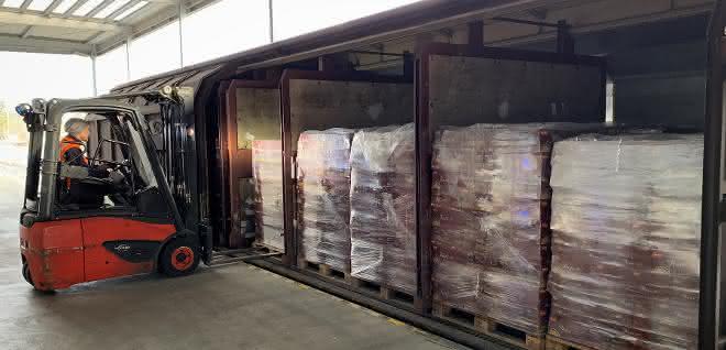 Pasta für Süddeutschland: DB Schenker transportiert italienische Nudeln für ALDI