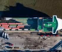 Neuer Schifffahrtsdienst gibt Breakbulk in Rotterdam Auftrieb
