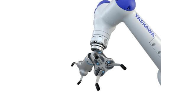 Drei-Finger-Greifer von OnRobot: Drei Finger für  schwere Objekte