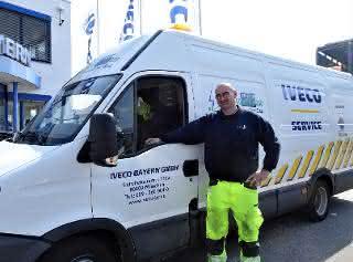 Iveco Werkstatt-Service und 24h Notdienst weiterhin in Betrieb