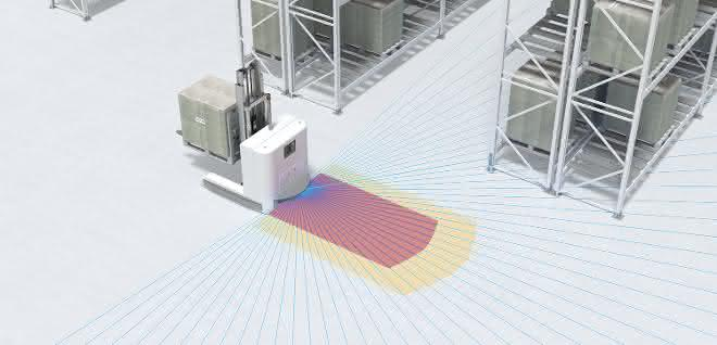 Sicherheits-Laserscanner RSL 400 von Leuze