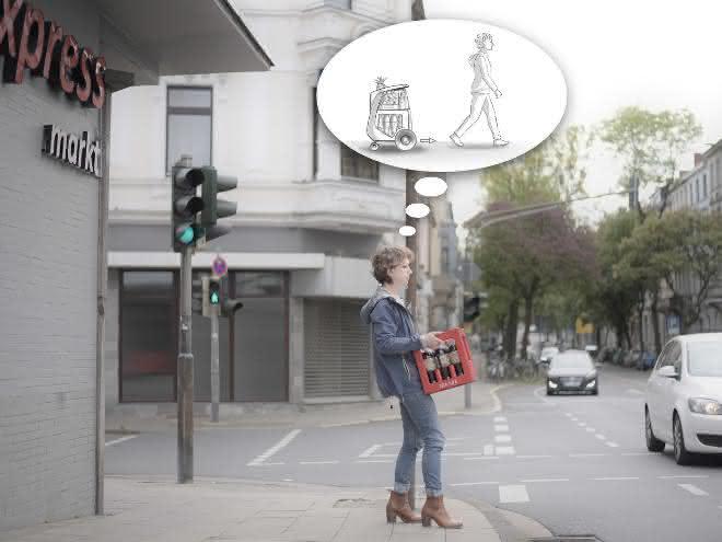 Neues Transportmittel für den urbanen Raum