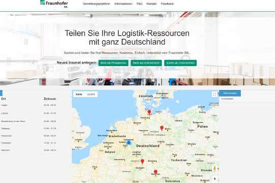 "Fraunhofer IML startet Initiative ""Logistik hilft"""