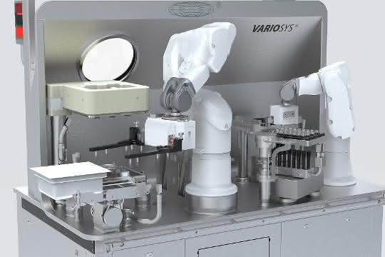 Maschinenmodul des Produktionssystems VarioSys