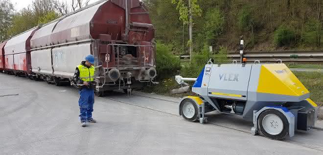 2-Wege-Fahrzeug VLEX jetzt bis 600 Tonnen Zuglast