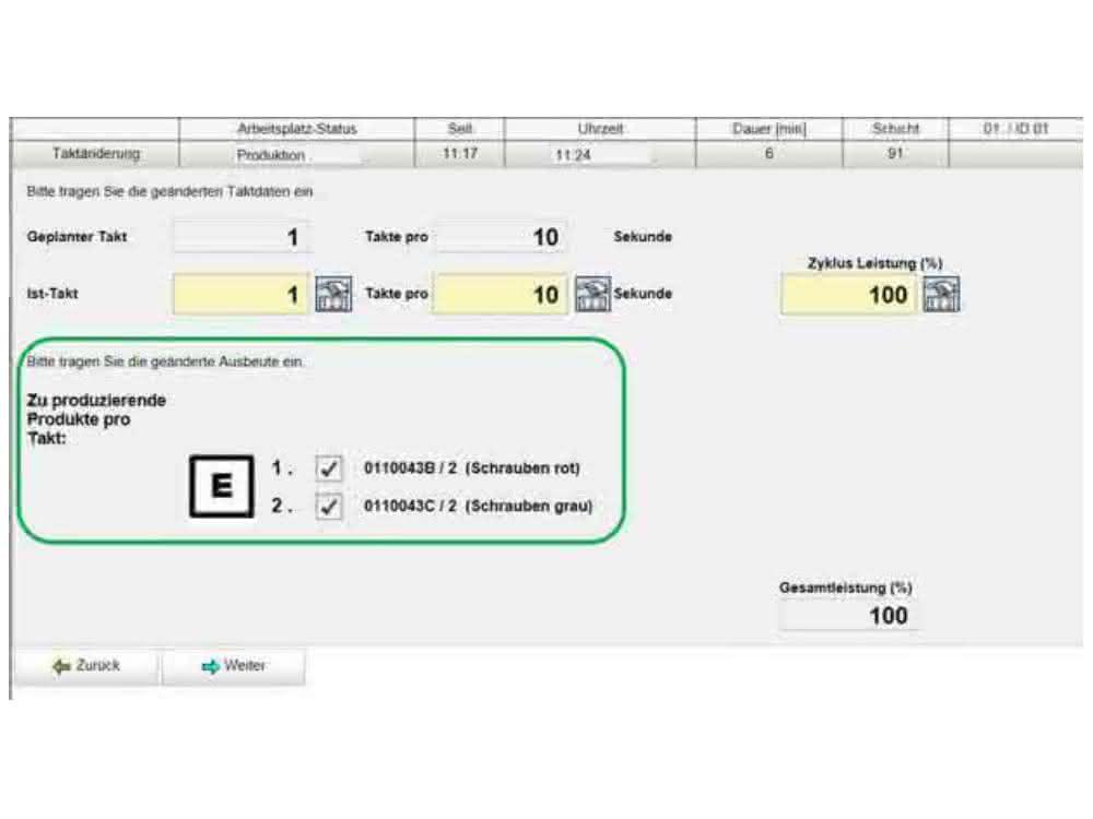 BDE- und MES-Software von Cosmino