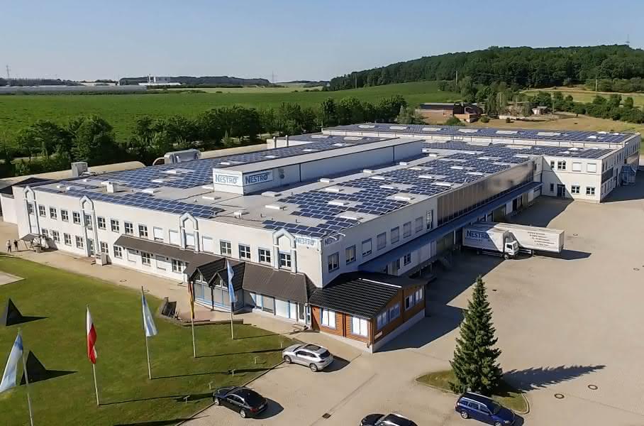 NESTRO® Lufttechnik Firmengebäude
