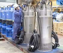 Lieferfähigkeit gesichert bei Tsurumi Pumpen