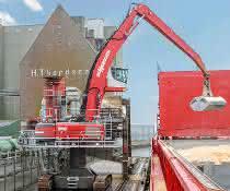 Schüttgutumschlag: Hafenumschlag im hohen Norden