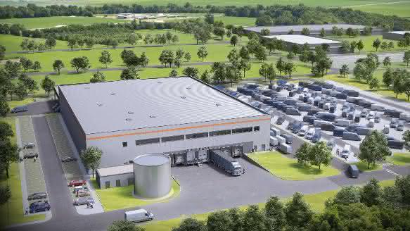 Garbe Industrial Real Estate baut für Amazon in Emden