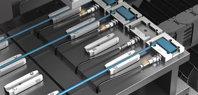 Mit IO-Link: Näherungssensoren erkennen unterschiedliche Bauteile