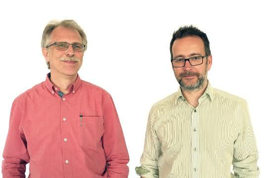 Robert Heller (links) und Christian Stecker