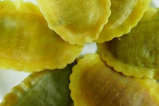 Pasta mit Algen