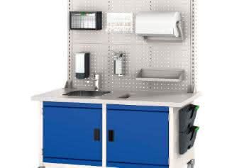 Neuheit: Hygienestation bott Care Point