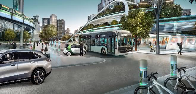 Daimler plant den Spurwechsel