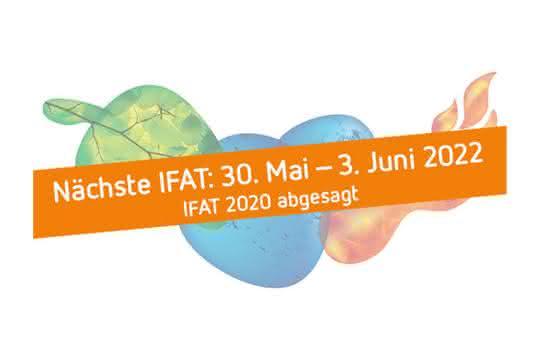 IFAT 2020 fällt aus