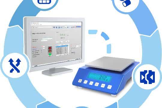 Alle Funktionen im Unternehmen um die Wäägetechnik lassen sich digitalisieren und zentralisieren.