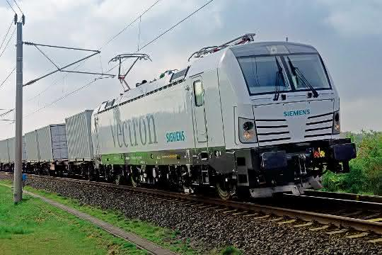 Siemens Mobility verkauft 1000. Vectron-Lokomotive
