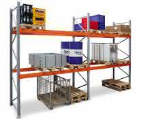 Palettenregal Artus für Stückgut und schwere Lasten