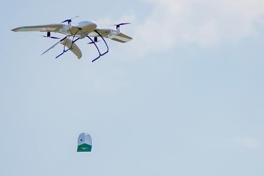 Wingcopter gewinnt Drohnenwettbewerb