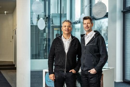 Christian Lutz (l) und Jodok Batlogg, Crate.io