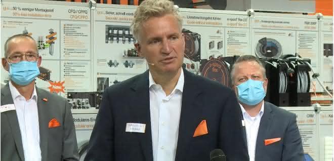 Igus-Geschäftsführer Frank Blase