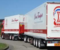 Drent transportiert mit Lang-Lkw von Krone