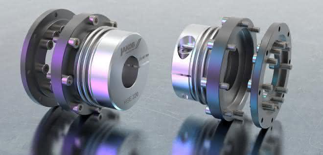 Metallbalgkupplung KGE.