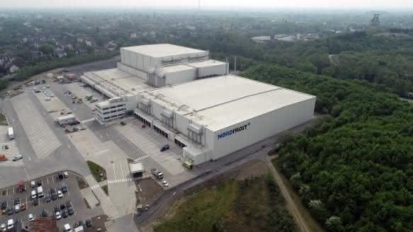 Nordfrost-Logistikzentrum in Herne eröffnet