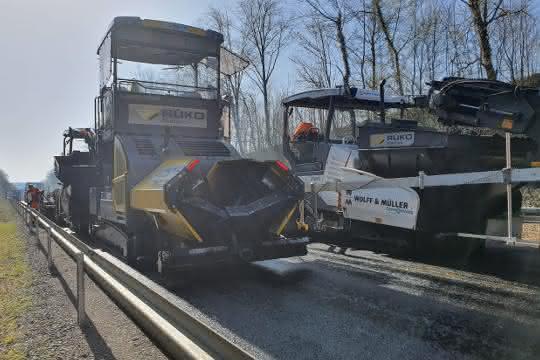 Straßenbau: Sanierung trotz Corona-Krise