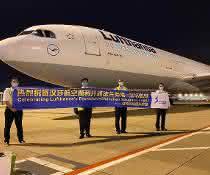 Erster Frachtflug aus Shenzhen gestartet
