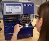 BradyPrinter A5500 Fahnen-Druckapplikator