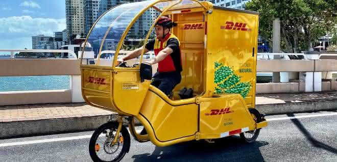 Innenstadtbelieferung: City-Logistik per Lastenrad in Miami