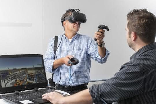 Unitechnik ermöglicht virtuelle Logistikplanung