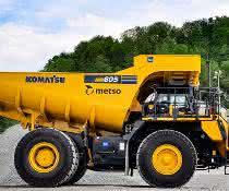 Mitteleuropa nimmt seine ersten beiden Metso Truck Bodies in Betrieb