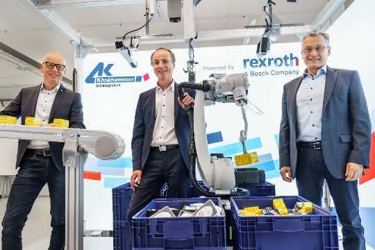 Bosch Rexroth und Klinkhammer kooperieren bei Lagerautomatisierung