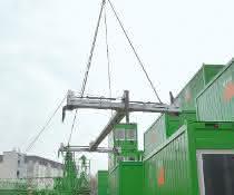 Bau-Container sicher versetzen