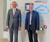 Guido Ahlfeld (links) mit Geschäftsführer Michael Tolz