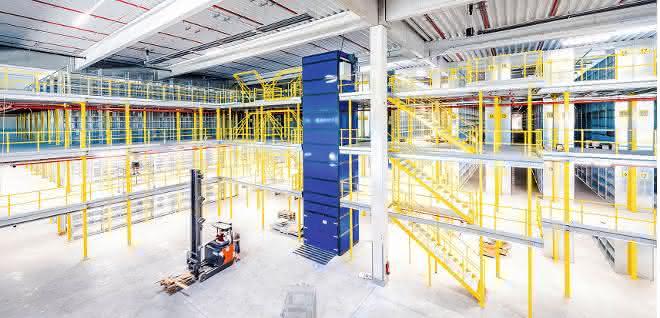 Aus materialfluss 5/2020: Kompakt lagern