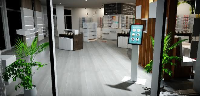 Digital Butler: Einlasssystem für Apotheken