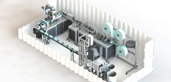 RespiratorBot: Mini-Fabrik für Masken