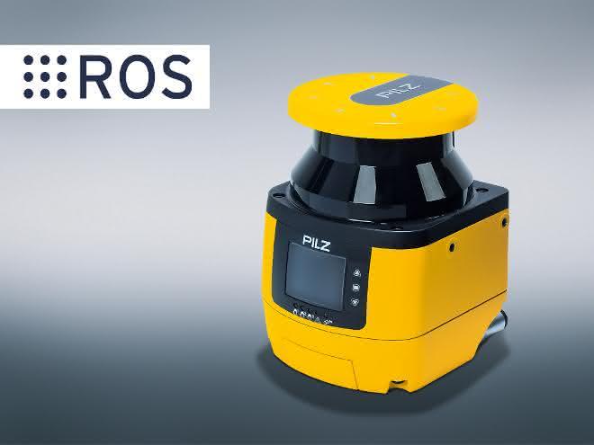 Pilz: Sicherheits-Laserscanner für FTS