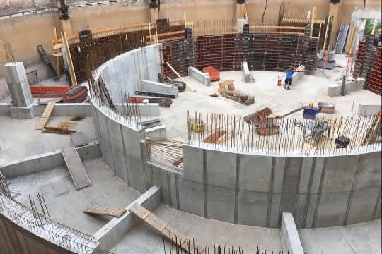 Schalungssysteme: Neubau des Planetariums in Halle