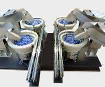 Zuführtechnik: Zuführlösungen für  Corona-Testsysteme