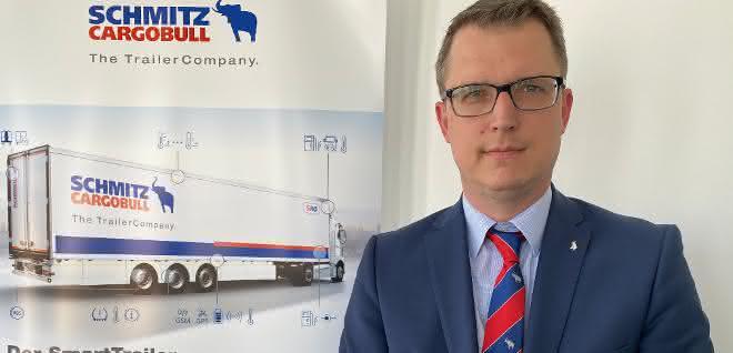 Marnix Lannoije leitet Cargobull Telematics