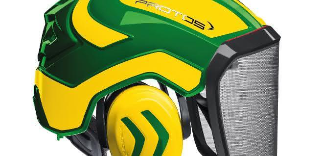 Das Headset-Zubehör gehören Bluetooth-Kommunikation und ein USB-Ladebügel, deren Technik komplett in der Gehörschutzkapsel verbaut ist.