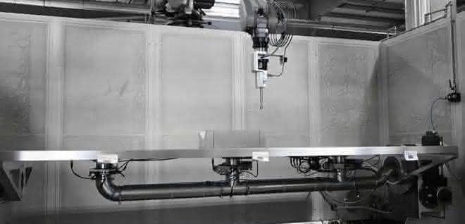 Roboter im Arbeitsraum