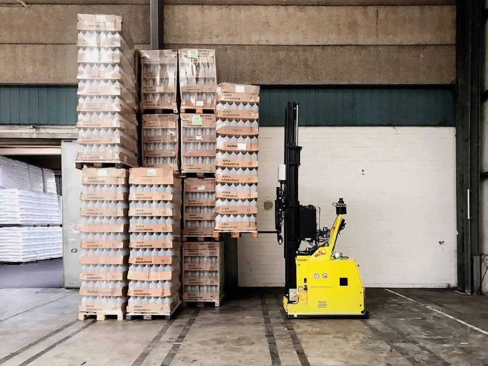 Instabile Lasten automatisiert stapeln