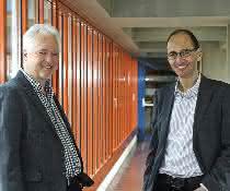 Prof. Dr. Hans Briegel und Prof. Dr. Thomas Müller