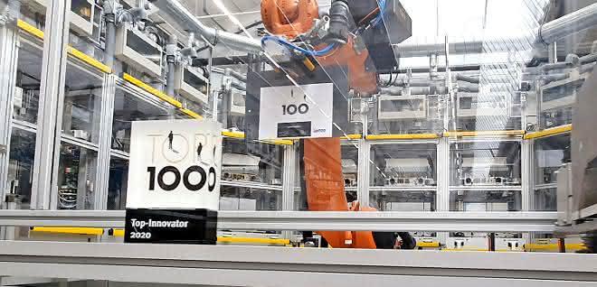 Innovationswettbewerb Top 100: Lenze als Innovations-Champion ausgezeichnet